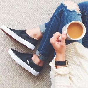 低至5折 第三波限今天:Calvin Klein 包包鞋履春夏特卖,真皮百搭平底鞋$58收