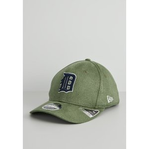 New Era墨绿麂皮棒球帽