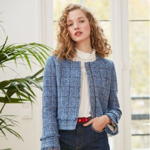 低至1.5折 秋日百搭毛衣£68入Claudie Pierlot 美衣大促 秋天也要做个小仙女!