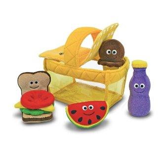 低至6.5折 封面可爱野餐篮$19.99KidKraft, Melissa & Doug 等绘画、过家家、戏水等玩具优惠