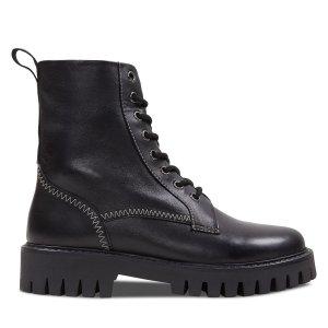Palladium真皮  9 10女款8孔靴
