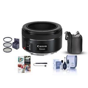 $125 穷人三宝Canon EF 50mm f/1.8 STM 小痰盂 + 配件
