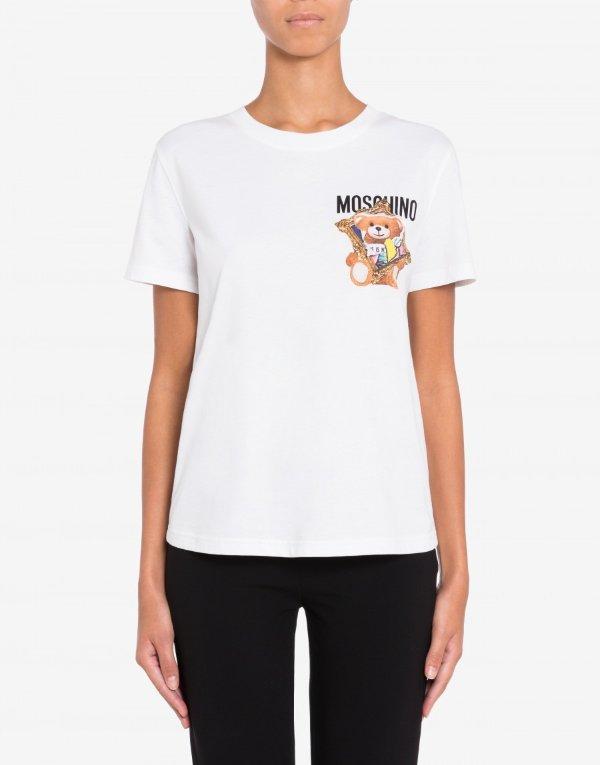 白色小熊T恤