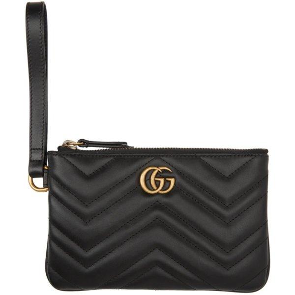 GG Marmont 黑色零钱包