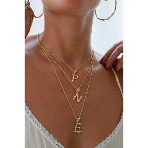 字母项链 A-Z