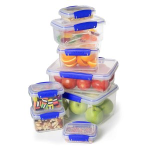 Sistema Food Storage and Sandwich Box Container Set, 16-Piece