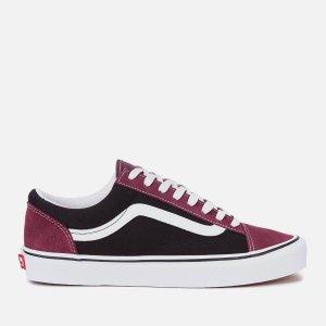 Vans Men's Style 36 运动鞋 - Prune/Black