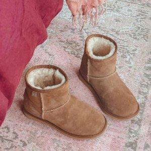 5折起+免邮 小猪靴$41EMU Australia官网 成人儿童雪地靴热卖 温暖一整个冬季
