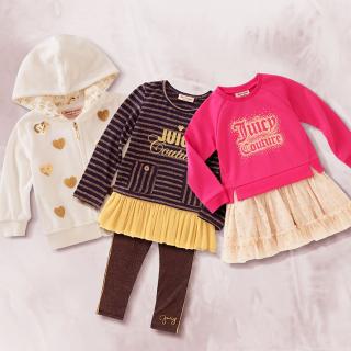 低至2.8折Kate Spade、Juicy Couture、Bebe 等品牌女童服饰优惠