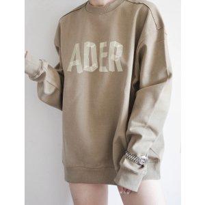 Ader Error周雨彤同款!仅剩L码!logo 卫衣