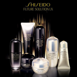Choose your 7-Piece Skincare Bonus (up to $101 value)With $75 Future Solution LX Purchase @ Shiseido