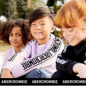 清仓区低至4折 全场8折含新品abercrombie kids官网儿童服饰特卖 T恤2件$16