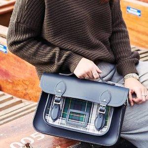 低至5折+被税即送£30无门槛代金券The Cambridge Satchel 美包精选,玩转时尚的经典元素