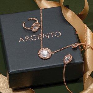 满£75立享85折 部分折扣区商品可叠加限今天:Argento 精选饰品折扣热卖   收Swarovski饰品、DW手表
