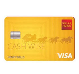 Earn a $200 cash rewards bonusWells Fargo Cash Wise Visa® Card