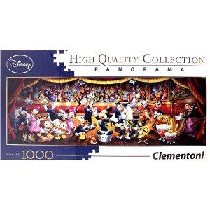 仅€12.99入手迪士尼乐团全景拼图 1000片大型拼图 锻炼逻辑思维能力