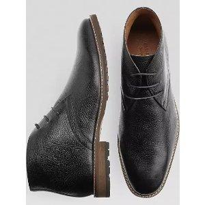 Carlo Morandi Black Chukka Boots