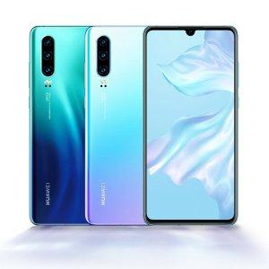 现价$649 (原价$999) 可退税史低价:Huawei P30 128GB/6GB 多色热卖