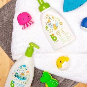 $8.44(原价$13.99)BabyGanics 宝宝泡泡浴液无香型591ml 呵护宝宝娇嫩肌肤