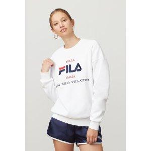 Fila女款运动上衣