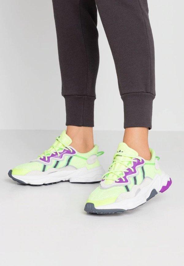 OZWEEGO 荧光绿运动鞋