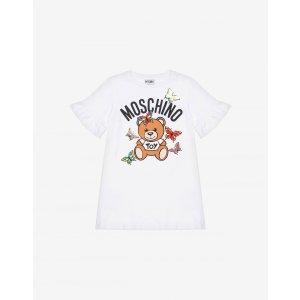 Moschino蝴蝶泰迪熊连衣裙 - 小女孩 - 小男孩(4-8岁)