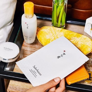 Get $120 value (4 Sheet Mask set)Dealmoon Exclusive: with $100 purchase @ Sulwhasoo