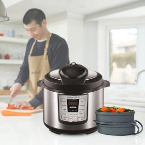 $69.88(原价$97.88)Instant Pot  6合1 6夸脱电子压力锅