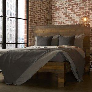 RST Brands Vanderbilt Reclaimed Queen Wood Bed