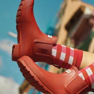 低至5折Hunter 精选男女鞋履、服饰热卖 雨季必备