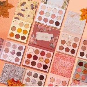 全场7.5折  眼影盘$9起Colourpop 秋季大促 收眼影盘、口红、联名彩妆 包税直邮英国