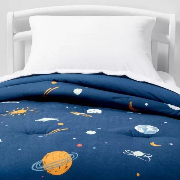 Pillowfort™ 宇宙图案夹被+枕巾
