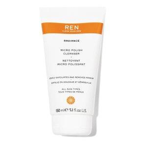 Ren Clean Skincare焕肤洗面奶