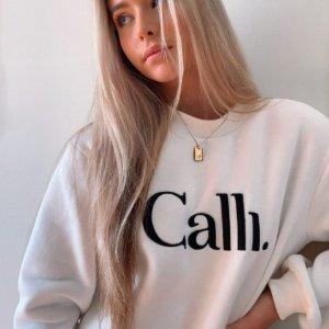 部分8折+叠6折 正价同享折扣升级:Calli 澳洲宝藏小众品牌 秋冬美衣 收卫衣、面包服等