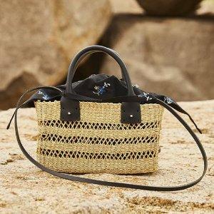 低至5折MUUN 草编包热卖 拥有这款包包 让你时髦整个夏天