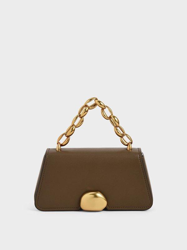 粗链手提包