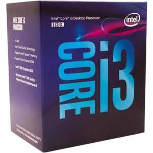 Intel Core i3-8100 3.6GHz 6MB Cache CPU