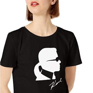 817f39b68d1c3 Karl Lagerfeld Silhouette Tee @Amazon.com From $17.99 - Dealmoon