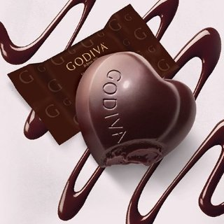 免费正装黑巧克力+低至7.5折GODIVA 精选巧克力年中大促