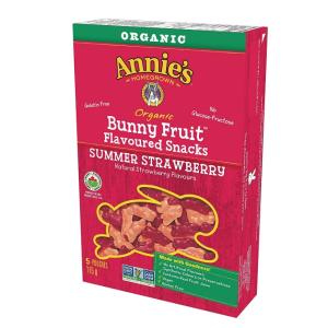 $2.82(原价$4.99)Annie's Homegrown 有机水果软糖 草莓味