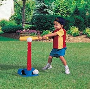 销量冠军 $11.47(原价$26.59)Little Tikes TotSports儿童棒球玩具套装
