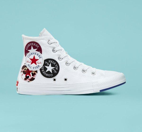Logo Play Chuck Taylor All Star帆布鞋