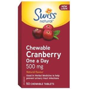 蔓越莓咀嚼片 500 mg