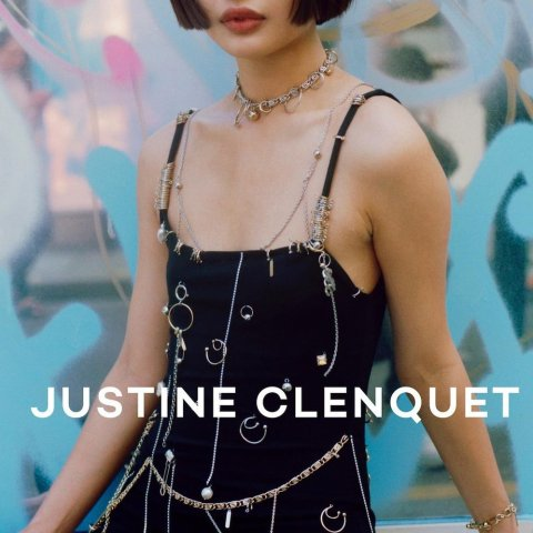 一律8.5折 Eddie耳环低至€46.75Justine Clenquet 新款大促 法国小众潮牌首饰 可盐可甜快来pick