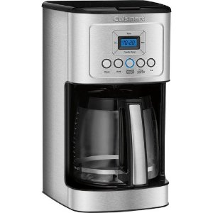 CuisinartDCC-3200 14-Cup Coffeemaker w Glass Carafe & Stainless Steel Handle, Refurbished