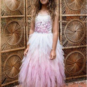 7-8折包邮 难得直减Tutu Du Monde 儿童超美蕾丝礼服裙热卖
