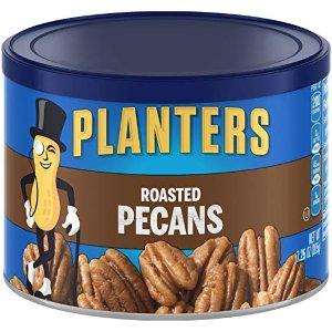 $4.02+免邮 热卖精品零食门槛降低:Planters 碳烤盐焗山胡桃 7.25 oz.