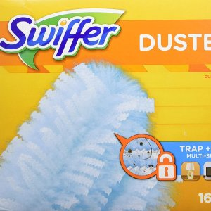 $11.97(原价$14.49)Swiffer 一次性除尘毡 16片替换头 无死角一扫清灰