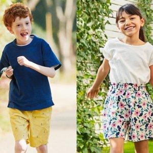 低至$7.9-$9.9 原价$14.9UNIQLO 儿童短裤限时优惠 有新款UV防晒打底裤