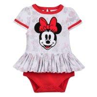 Disney 米妮 图案婴儿包臀衫